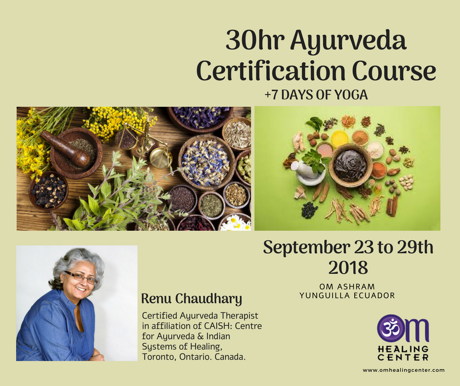 Ayurveda Certification