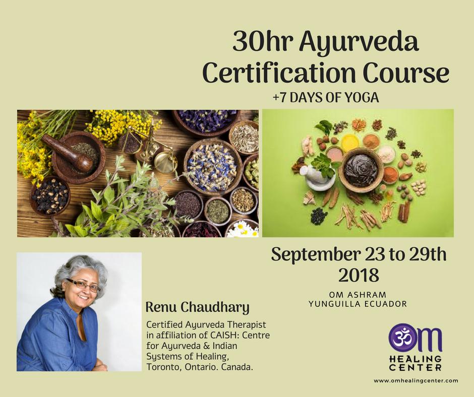 Ayurveda Certification
