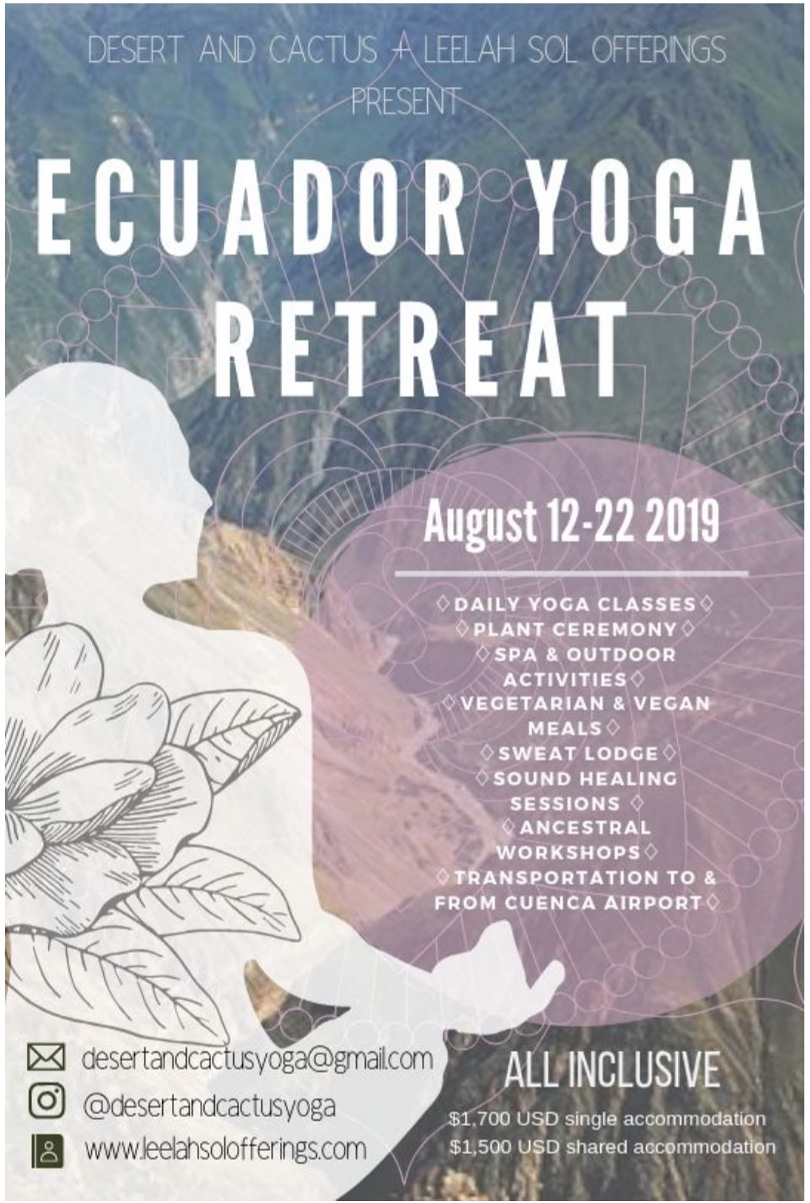 Ecuador Yoga Retreat